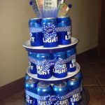 пиво торт торт из банок пива подарок из пива торты из пива для мужчин фото торт из пива