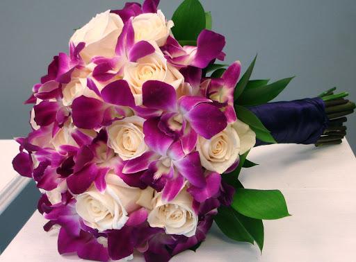 букеты цветов орхидеи