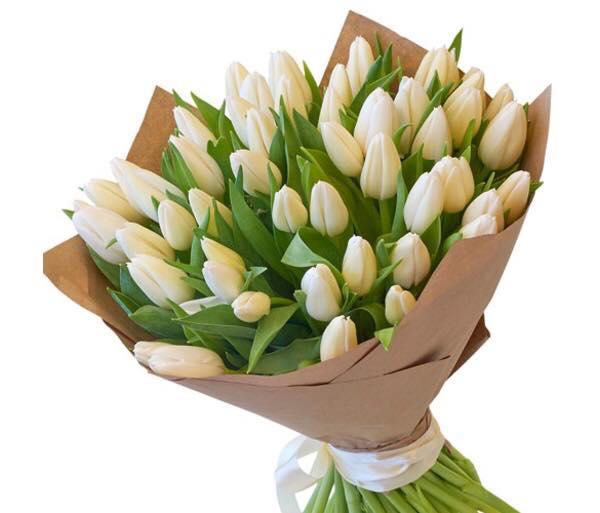 букеты цветов тюльпаны