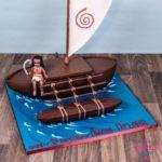 детские торты корабль