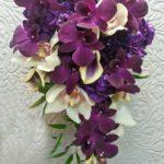 красивые букеты цветов орхидей
