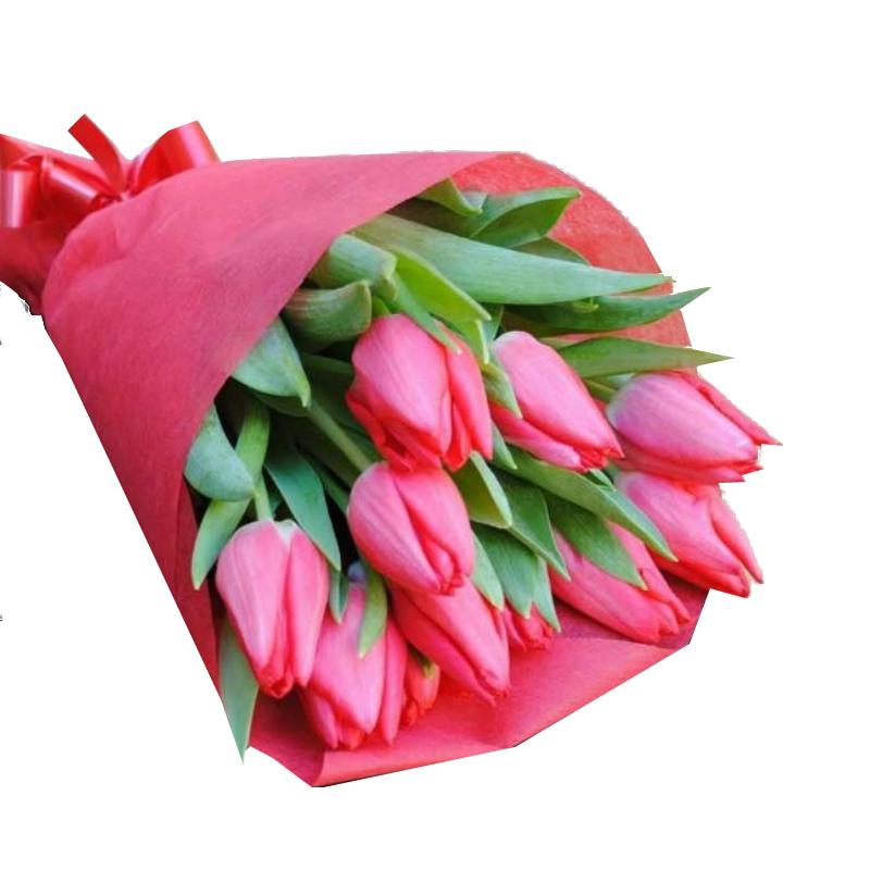 тюльпаны домашние букеты