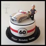оформление торта на 60 лет мужчине