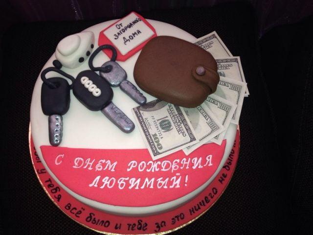 фото торта для мужчины