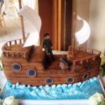 торты корабли фото