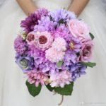 букеты из роз и орхидей