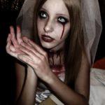 макияж на хэллоуин мертвая невеста