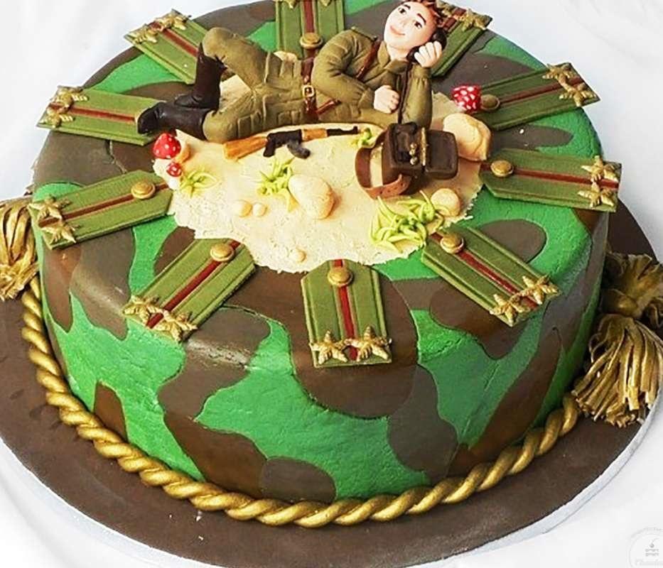 Торт на проводы в армию фото танк