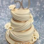 Торты на золотую свадьбу 50 лет