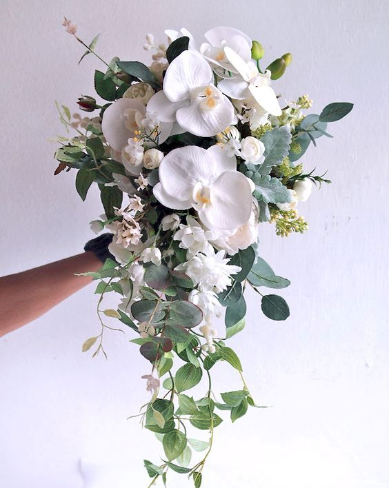 Букеты из орхидей фото