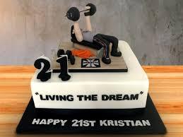 торт парню на 21 год