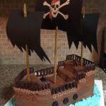 торты пиратские корабли фото