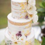 Торты на золотую свадьбу без мастики