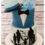 юбилейные торты для мужчин на 50 лет фото