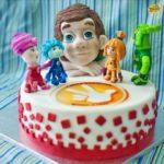 детские торты фиксики
