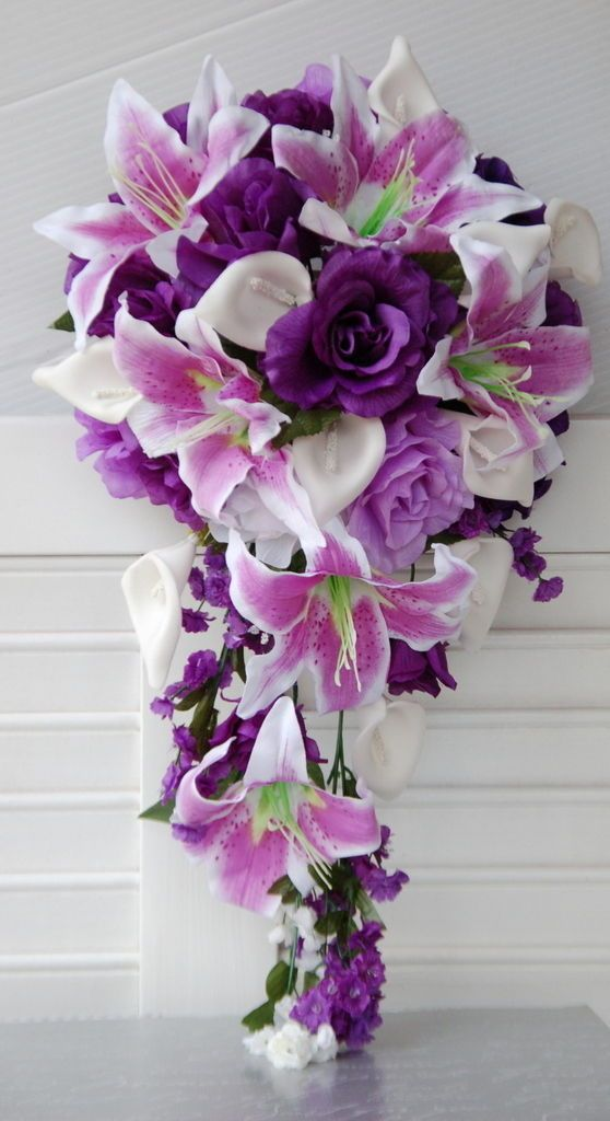 большие букеты орхидей