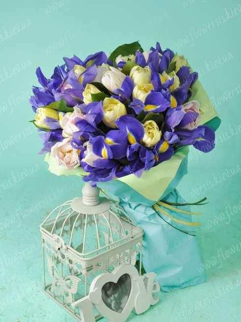 букеты тюльпанов фото красивые