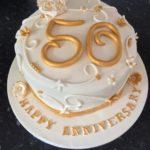 юбилейные торты для женщин на 50 лет фото