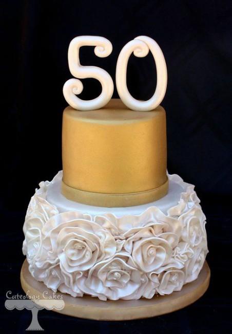Торт на 50 лет женщине фото
